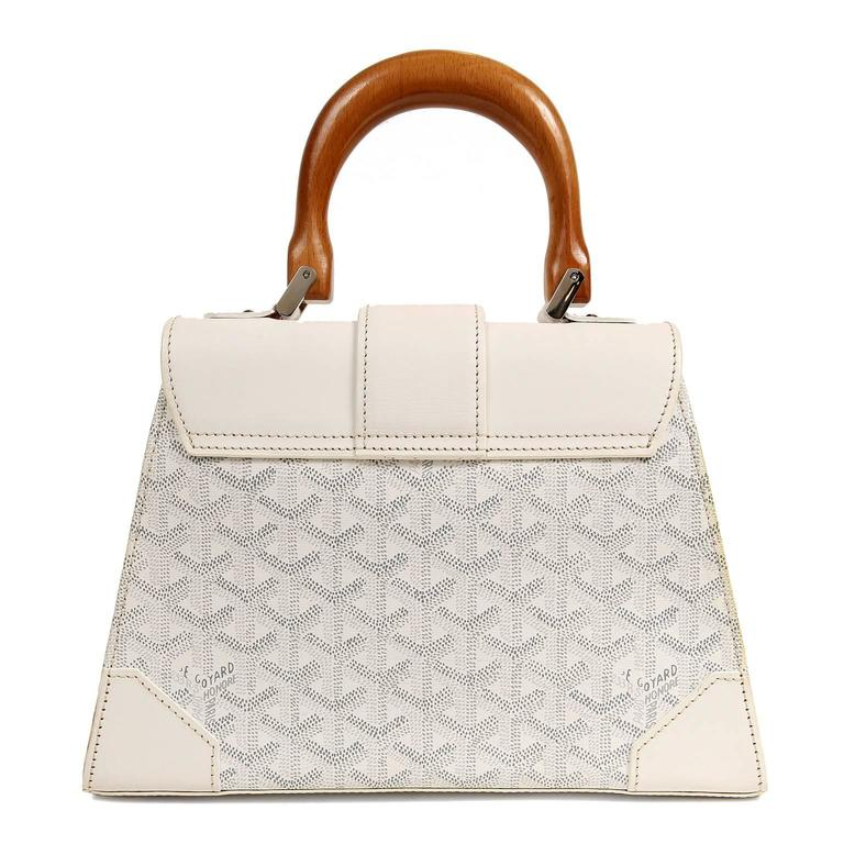 Goyard White Saigon PM Bag 2