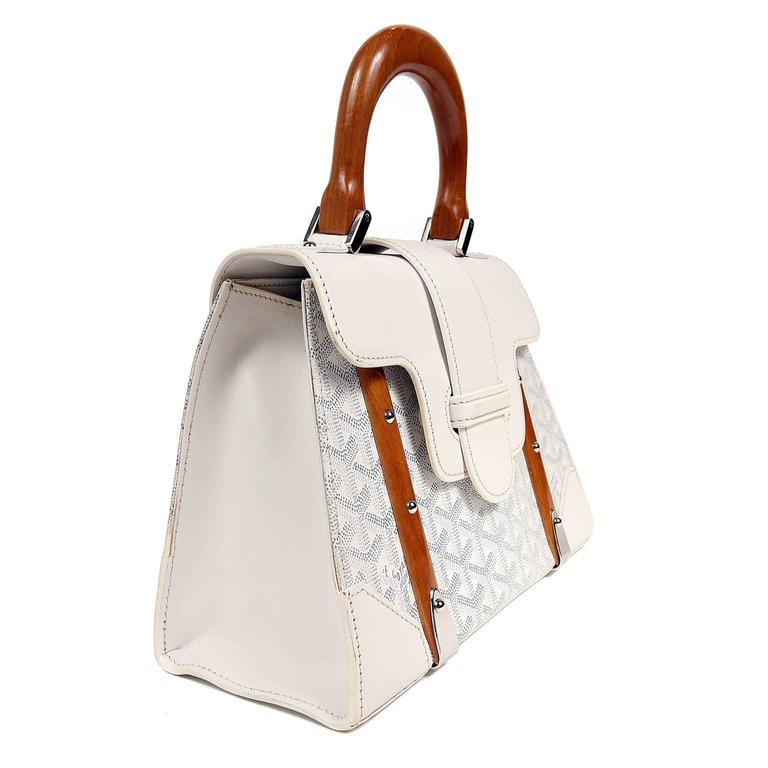 Goyard White Saigon PM Bag 3