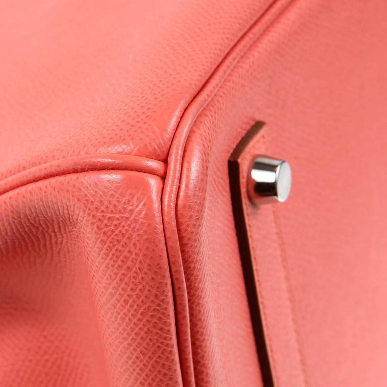 Hermès Pink Flamingo Epsom Birkin- 35 cm with  PHW 4