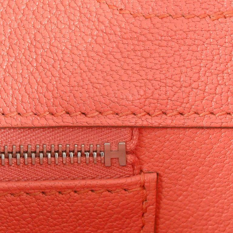 Hermès Pink Flamingo Epsom Birkin- 35 cm with  PHW For Sale 6