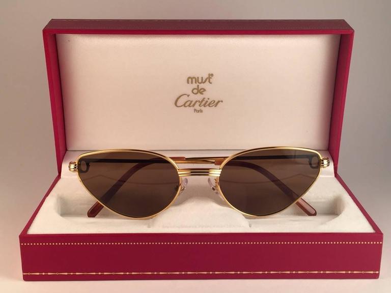 3fa4e6f5ae4 Cartier Sport Sunglasses Replacement Lenses 64mm