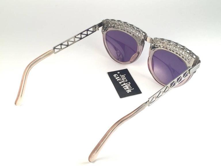 Women's or Men's New Jean Paul Gaultier 56 0271 Eiffel Tower Clear Collectors Item 1990's Japan  For Sale