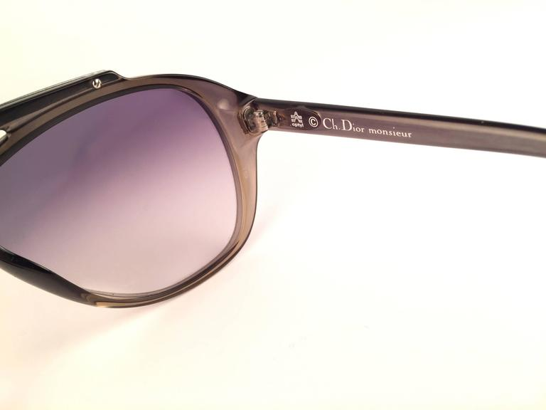 f710b5bed86 New Vintage Christian Dior Monsieur 2059 11 Optyl Blue Gradient 1970  Sunglasses For Sale 1