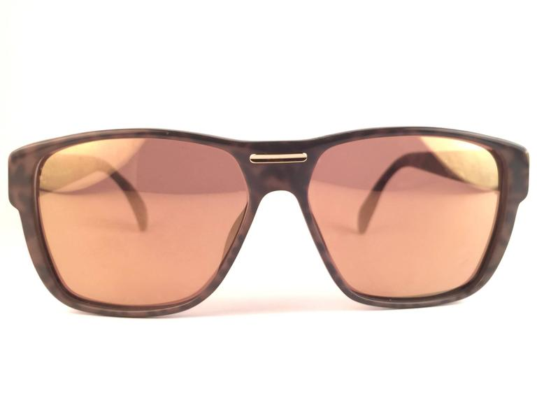 New Vintage Christian Dior Monsieur 2386 20 Optyl Camouflage 1970 Sunglasses 2
