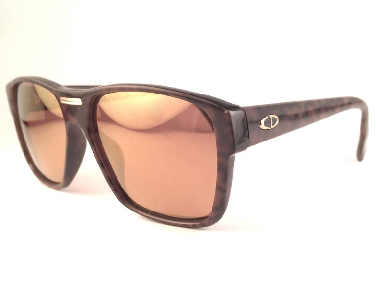 New Vintage Christian Dior Monsieur 2386 20 Optyl Camouflage 1970 Sunglasses 3