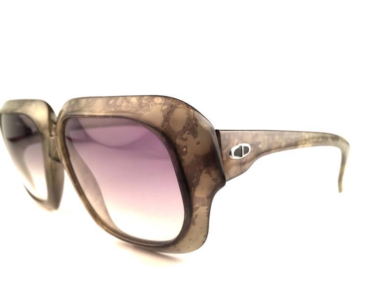 New Vintage Christian Dior Monsieur 2024 60 SunglassesGreen Marbled Sunglasses 4