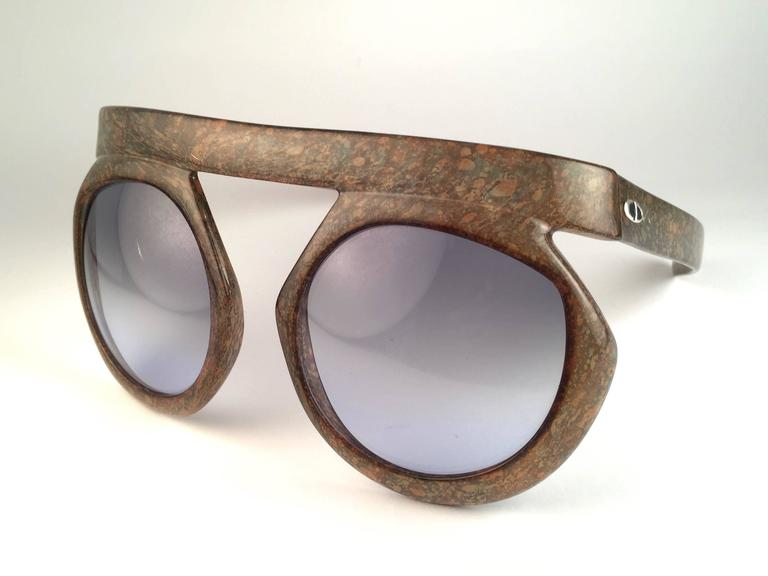 New Vintage Christian Dior 2030 80 Jasper Camouflage Collector Optyl Sunglasses  2
