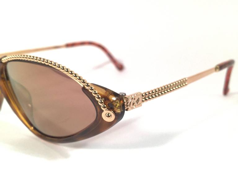 New Vintage Christian Lacroix Cat Eye 7346 1980's France Sunglasses 4