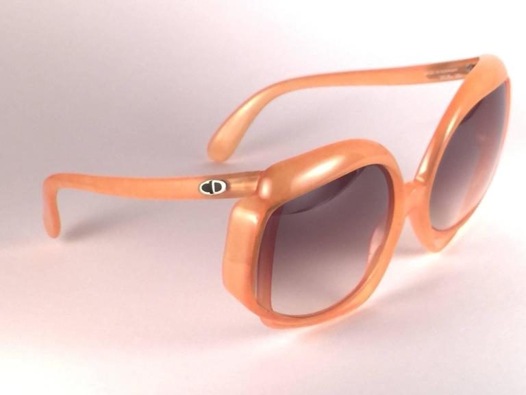 Brown New Vintage Christian Dior 2026 30 Tangerine Optyl Sunglasses Germany For Sale