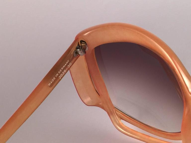 New Vintage Christian Dior 2026 30 Tangerine Optyl Sunglasses Germany For Sale 1