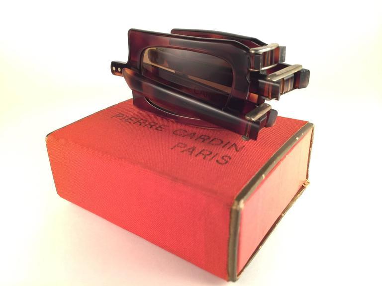 Vintage Pierre Cardin Tortoise Foldable Collectors Item