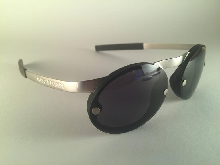 e7396a11c22 Black New Vintage Porsche Design By Carrera 5694 Round Matte Sunglasses  Austria For Sale