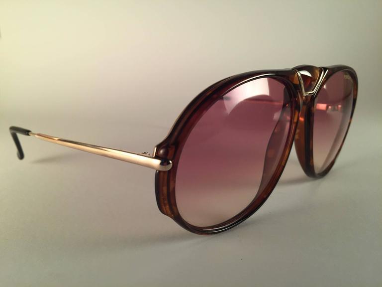 21c37a90a351 Black New Vintage Porsche Design By Carrera 5659 Tortoise Large Sunglasses  Austria For Sale