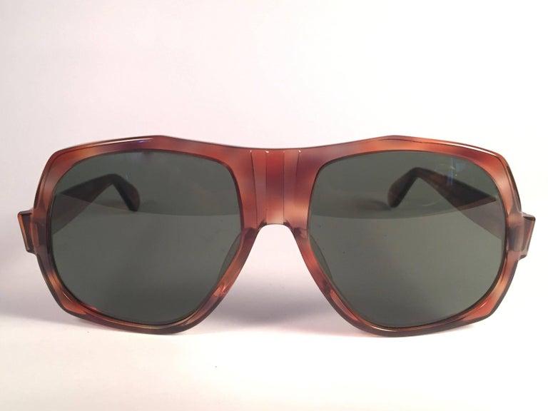 New Vintage Ray Ban B L BradshawTortoise G15 Grey Lenses Sunglasses USA For  Sale at 1stdibs db8885aef3