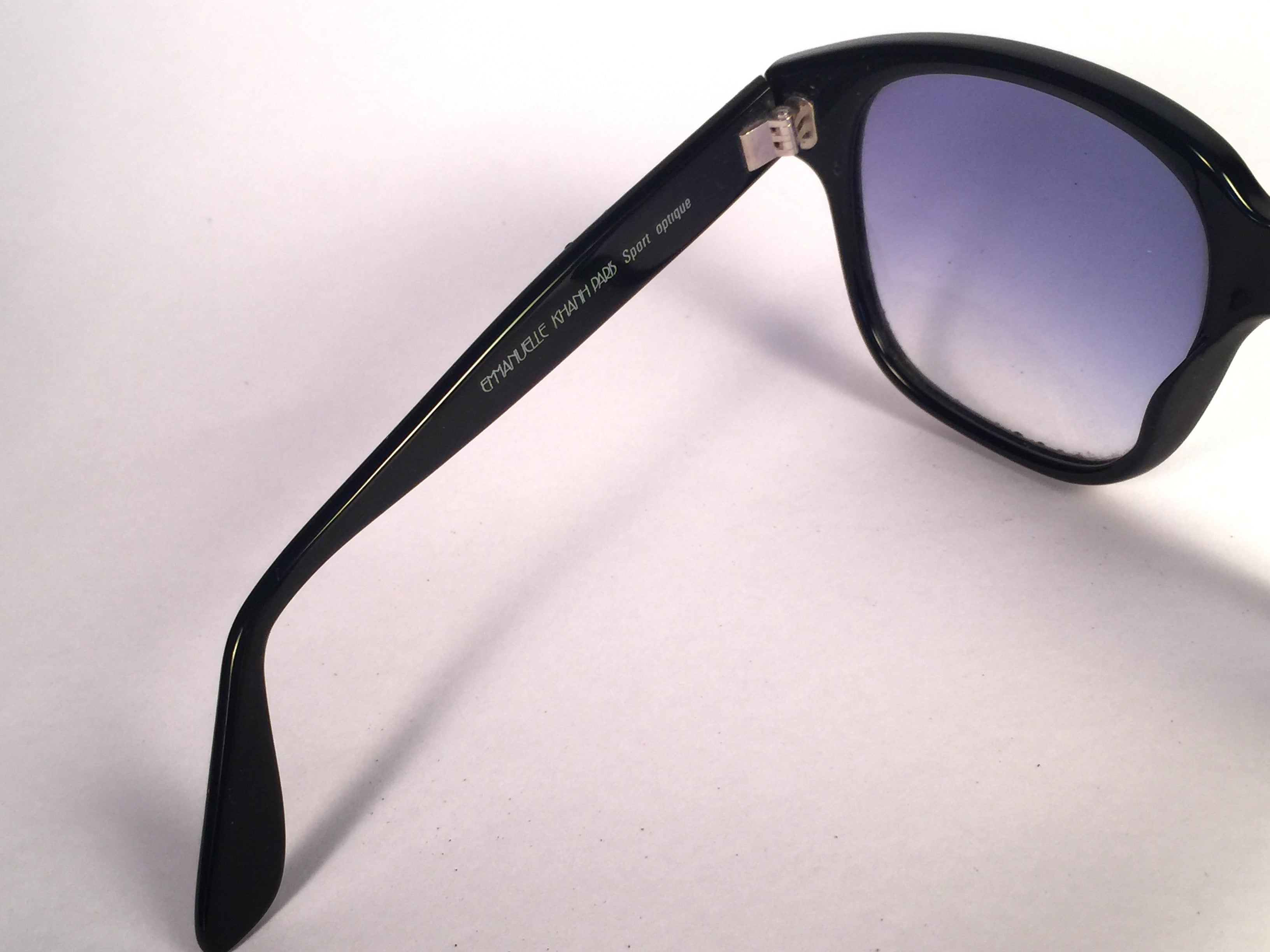 c78e3757987 New vintage emanuelle kahn paris rhinestones accents black sunglasses  france at stdibs jpg 3264x2448 Emmanuel kahn