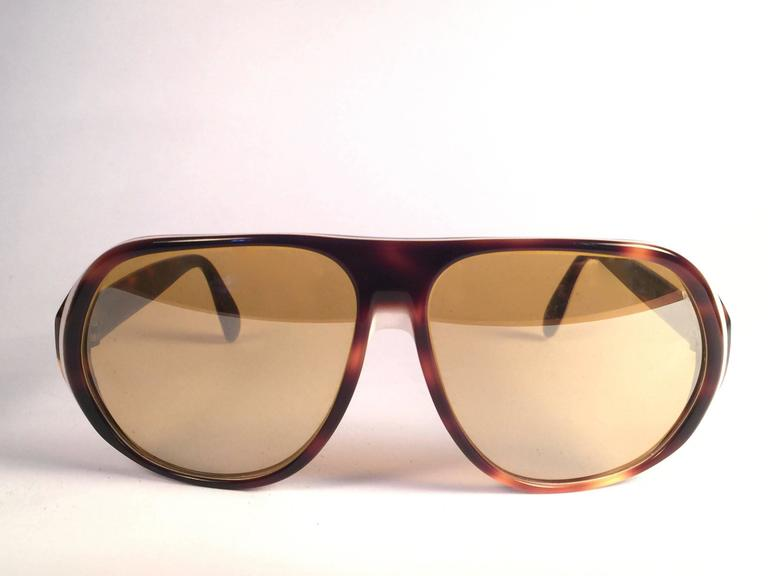 2b6efad251 New Vintage Ray Ban B L Blazer Ambermatic Mirror Lenses Sunglasses ...