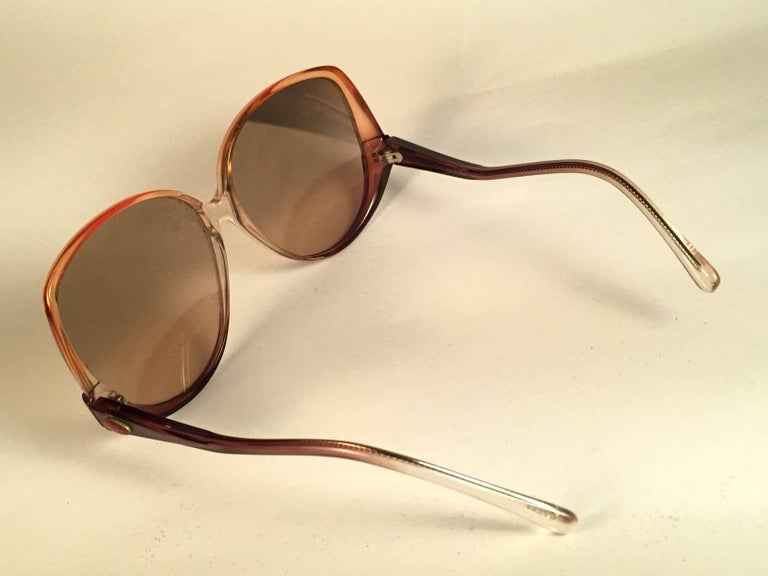 85cfbc4799 New Vintage Ray Ban Style 31 Naturals Amber 1970  39 s USA Sunglasses For