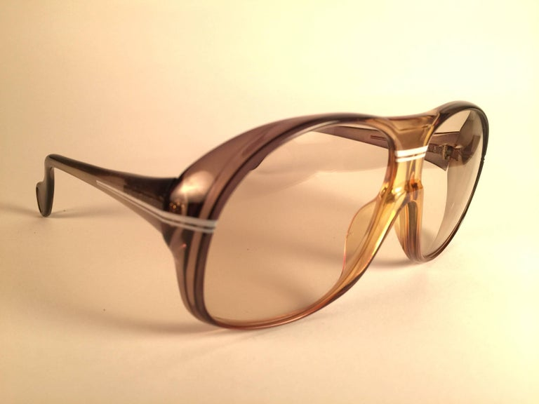 Red New Vintage Zeiss Marwitz Clear Green Light Lens Made W. Germany 1970 Sunglasses For Sale