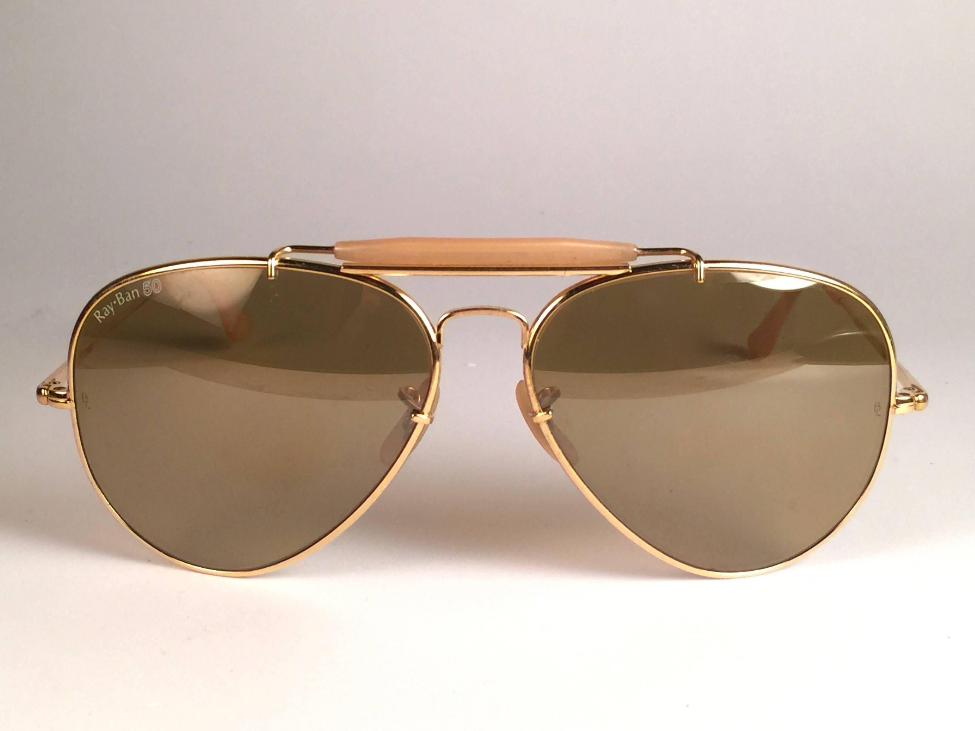 d1f9a152277 Vintage Ray Ban The General 50 Collectors Item George Michael Faith Tour  62Mm US at 1stdibs