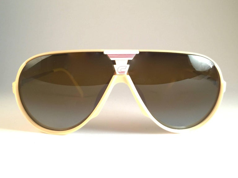 New Vintage Carrera Aviator Oversized Sports Large 1970 S