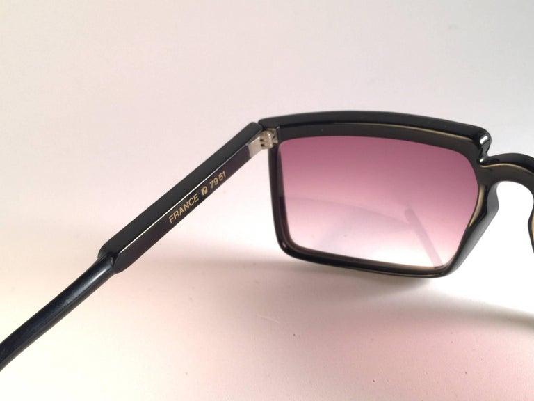 New Vintage Yves Saint Laurent YSL 7951 1980 France Sunglasses For Sale 1