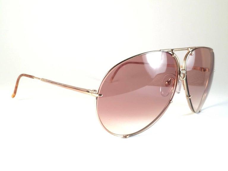 7ae516f509 Brown New Vintage Porsche Design By Carrera 5621 49 Titan Large Sunglasses  Austria For Sale