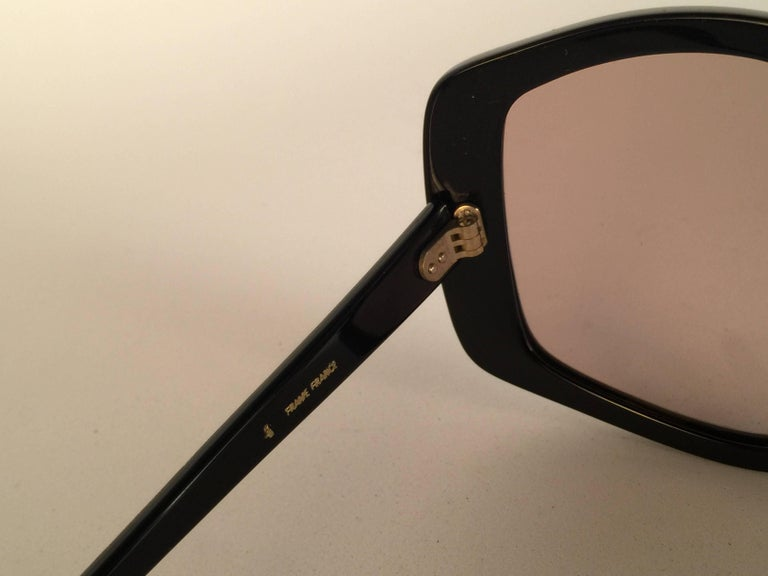 Women's New Vintage Emilio Pucci Multicolour Oversized Collector Item Sunglasses France For Sale
