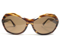New Vintage Rare Pierre Marly Nicky Oversized Avantgarde 1960 Sunglasses