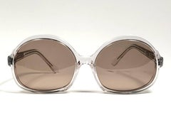"New Vintage Rare Pierre Marly "" STRATUS "" Oversized Avantgarde 1960 Sunglasses"