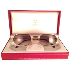 New Vintage Cartier Louis Vendome Medium 53mm France Sunglasses