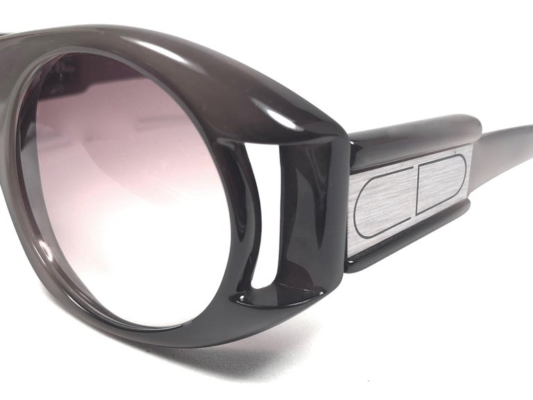 Christian Dior Vintage Monsieur C61 Oversized Sunglasses, 1970  For Sale 1
