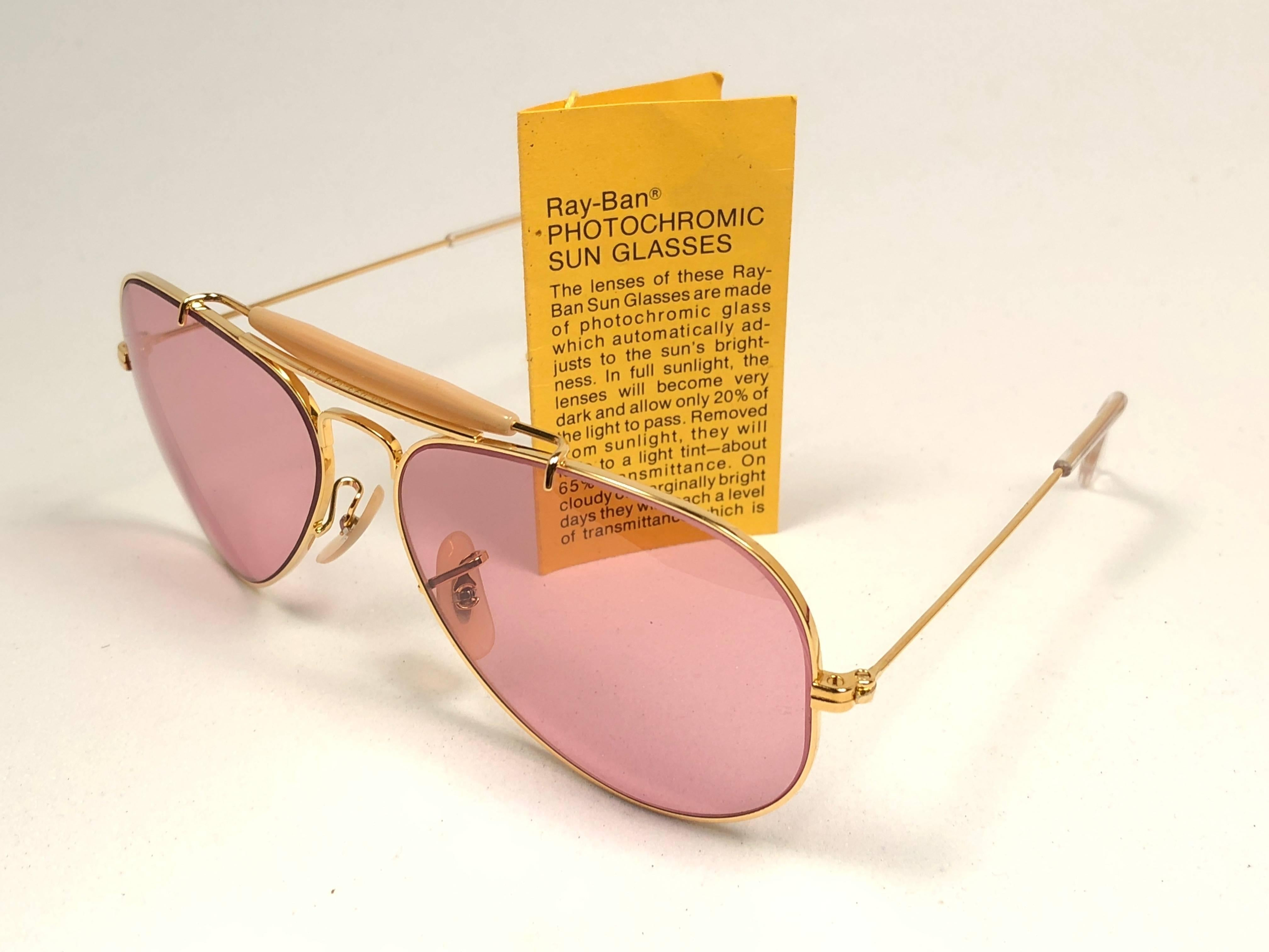 c6c11aed69f 62mm Vintage B l Ray Ban Us Shooter Aviator Sunglasses « One More Soul