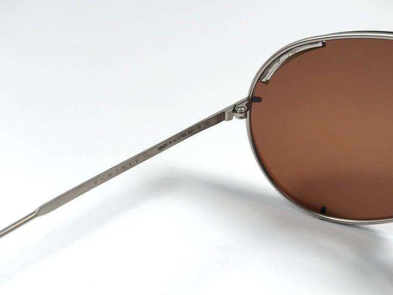 New Vintage Porsche Design By Carrera 5621 Titan Matte Large Sunglasses Austria For Sale 3
