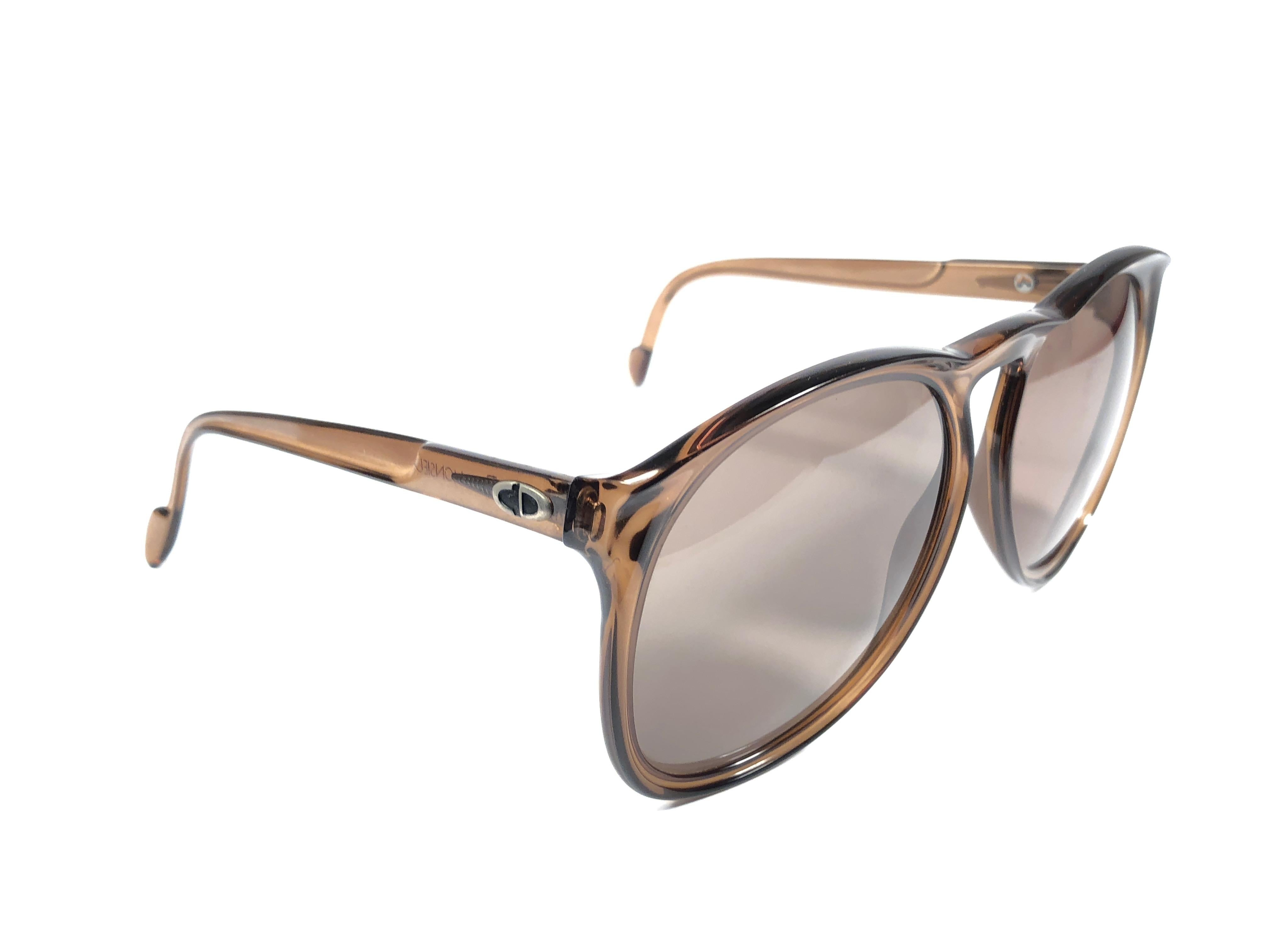 249f1a4656d New Vintage Christian Dior Monsieur D62 Oversized Green Optyl Austria  Sunglasses For Sale at 1stdibs
