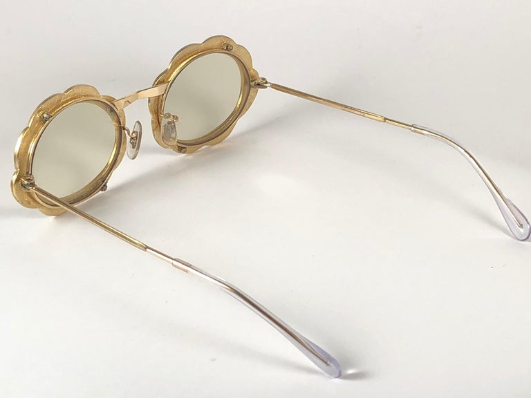 Women's Ultra Rare 1960 Christian Dior Enamelled Collector Item Sunglasses For Sale