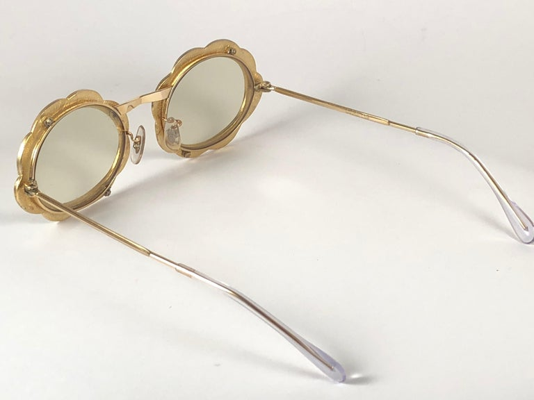 Ultra Rare 1960 Christian Dior Enamelled Collector Item Sunglasses For Sale 1