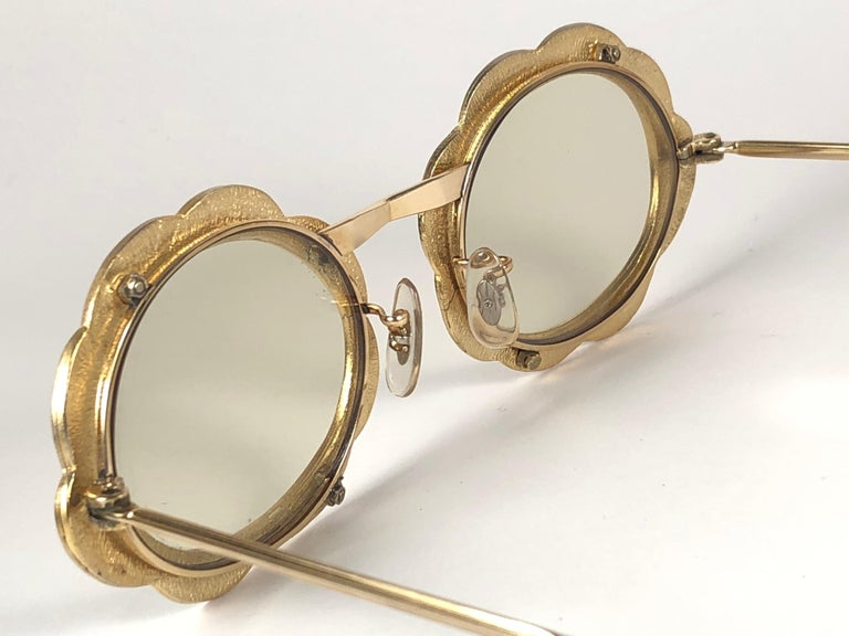 Ultra Rare 1960 Christian Dior Enamelled Collector Item Sunglasses For Sale 2