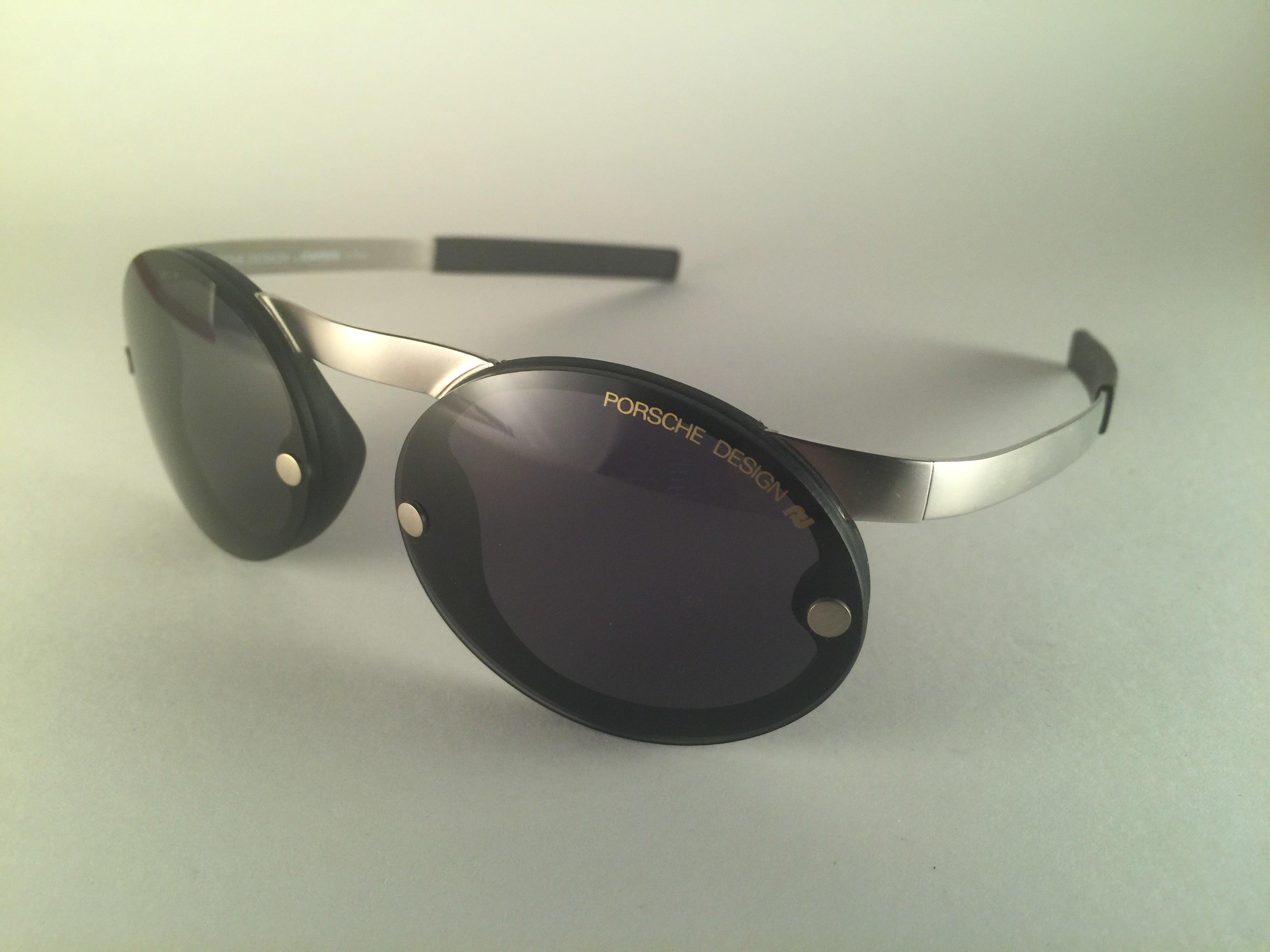 985c7e00818638 Mint Vintage Porsche Design By Carrera 5694 Round Matte Sunglasses Austria  bei 1stdibs