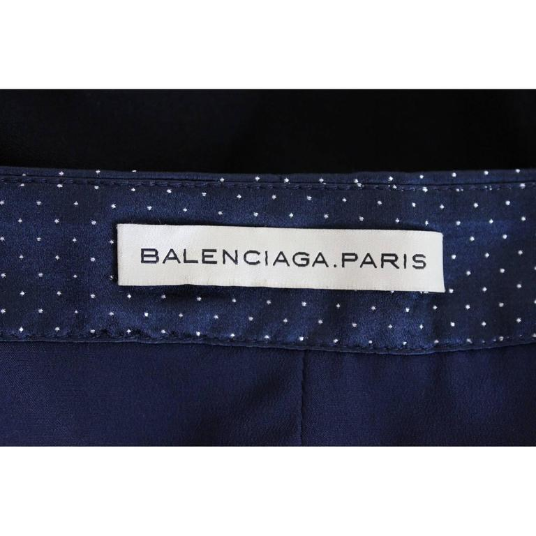 1990s Balenciaga Paris Black Top  For Sale 5