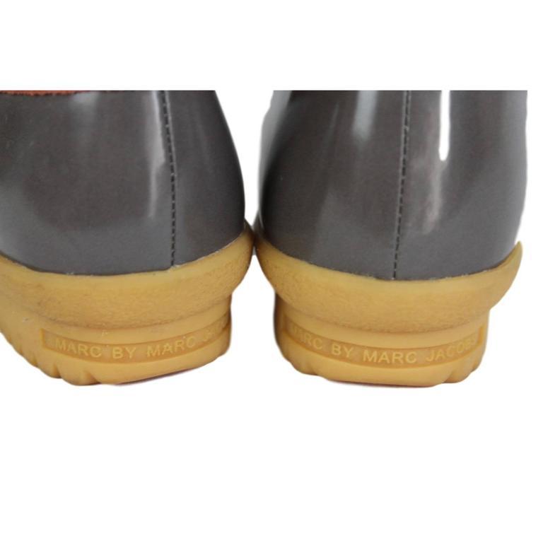 2000s Marc Jacobs Orange Duck Boots Shoes 5