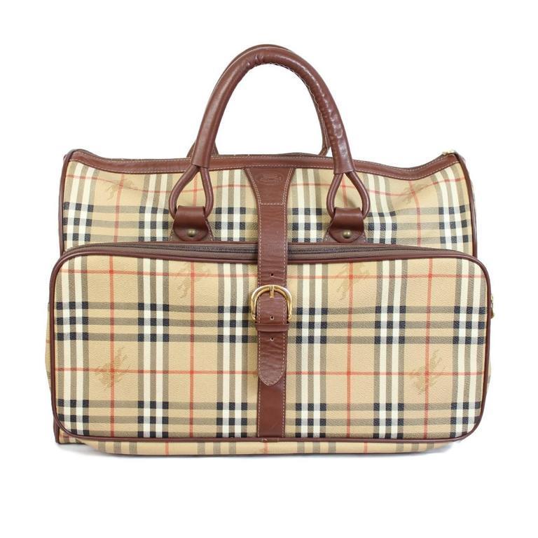 Vintage Burberry Travel Bags