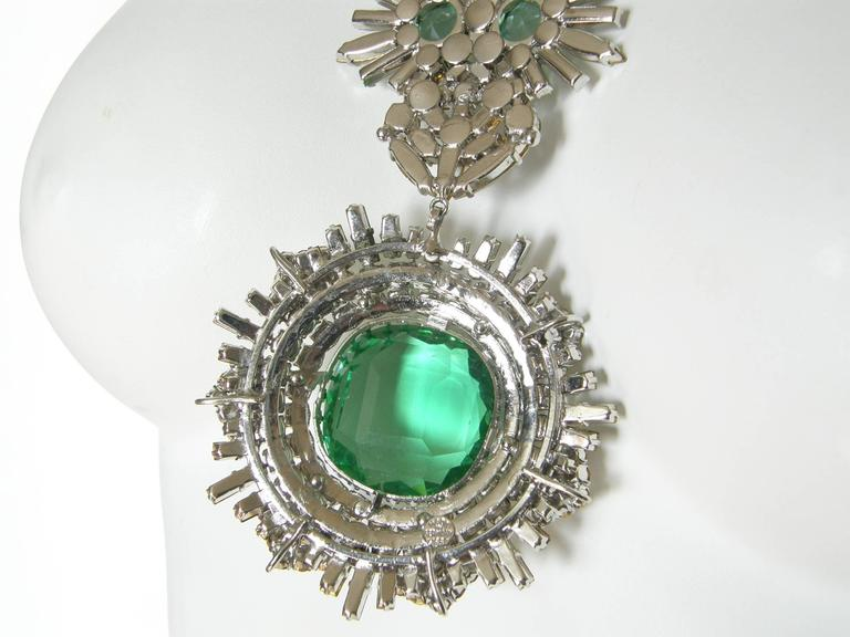 West German Rhinestone Necklace 9