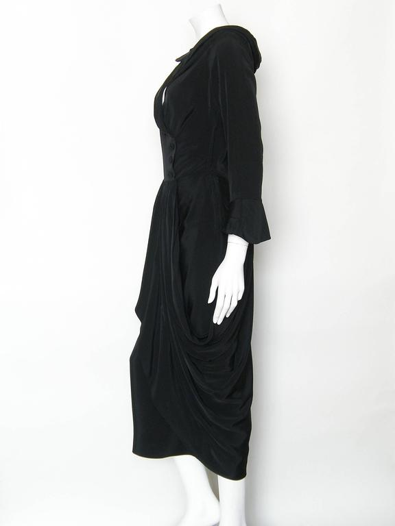 Black Ceil Chapman Cocktail Dress 2