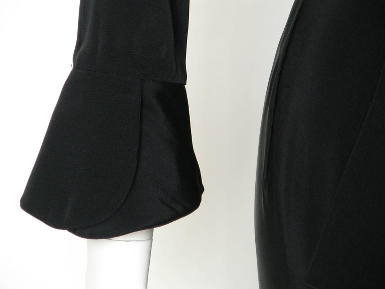 Black Ceil Chapman Cocktail Dress 10