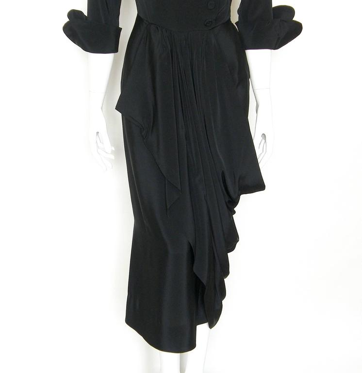 Black Ceil Chapman Cocktail Dress 7