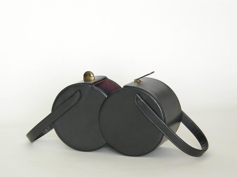 Double Cylinders Handbag 5