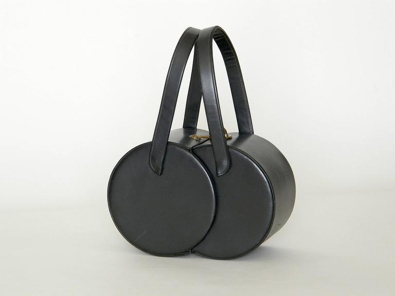 Double Cylinders Handbag 3