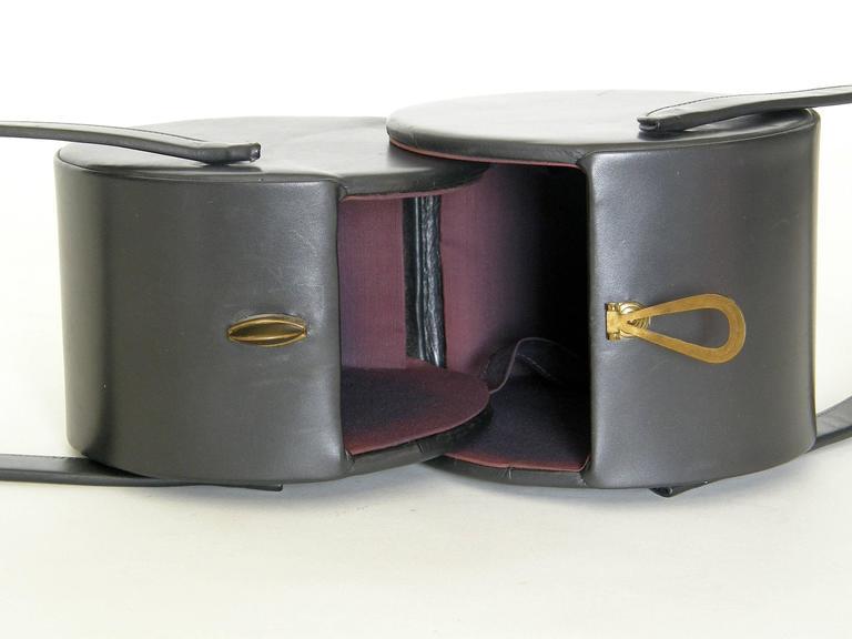 Double Cylinders Handbag 8