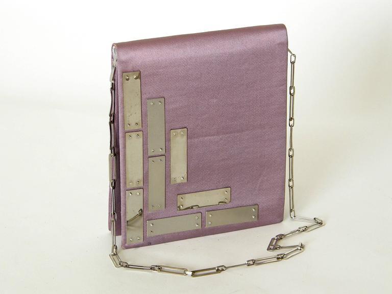 Pierre Cardin Futuristic Shoulder Bag 4
