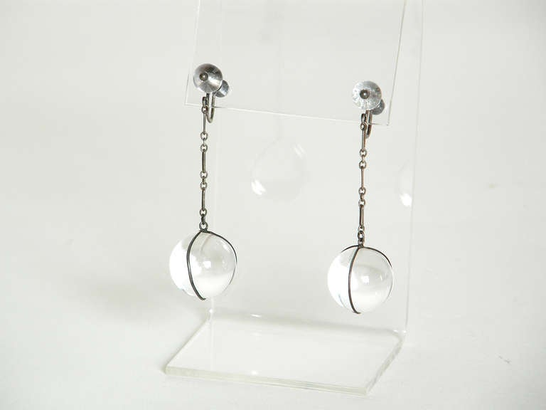 """Pools of Light"" Earrings 3"